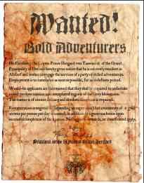 Adventurer's Wanted