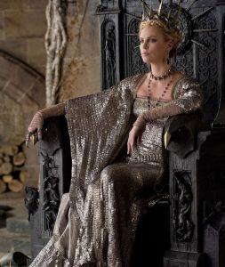 Countess Frau On Throne