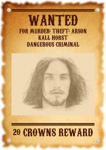 Kalls Wanted Poster
